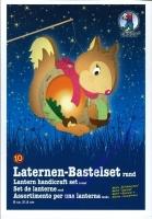 Laternen-Bastelset Eichhörnchen