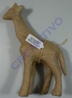 Pappmaché Giraffe 17cm
