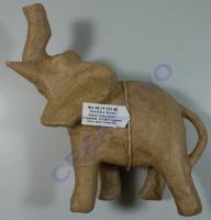 Pappmaché Elefant 16cm