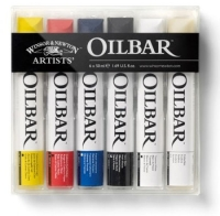 Artists Oilbar Set 6 x Oilbar 50ml