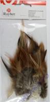 Hahnenfedern 10-15cm 3g braun