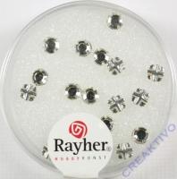 Glas-Strasssteine bergkristall 18St 4mm