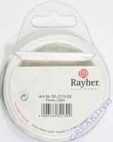 Rayher Satinband 7mm 10m weiß