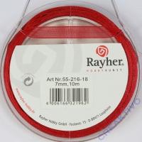Rayher Organzaband 7mm 10m rot