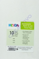 Seidenpapier 50x70 cm weiß 10 Blatt