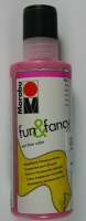 Marabu Fun & Fancy Window Color 80ml pink (Restbestand)
