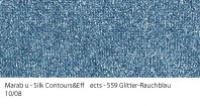 Marabu Contours & Effects Liner 25ml Glitter-Rauchblau