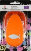 Motivstanzer: Fisch, 5cm
