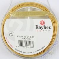Rayher Satinband 7mm 10m gold