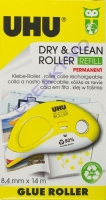 UHU DRy & Clean Roller refill