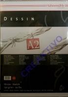 Skizzenblock Dessin A2 25 Blatt Spiralheftung