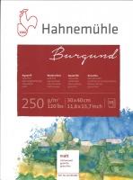 Burgund Aquarellblock 30 x 40cm 20 Blatt matt