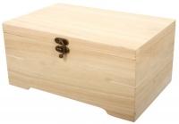 Holz-Schatulle mit Einsatz