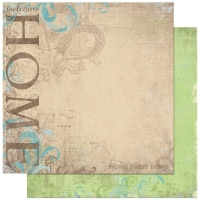 Scrapbooking Papier Welcome Home (Restbestand)