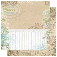 Scrapbooking Papier Welcome Home Decor (Restbestand)