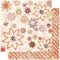 Scrapbooking Papier Vicki B. Florilicious