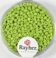 Rocailles 2 mm ø opak gelüstert hellgrün