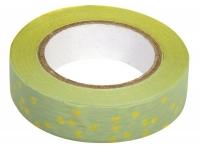 Rayher Washi Tape Blüten oliv