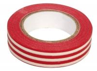 Rayher Washi Tape Streifen rot