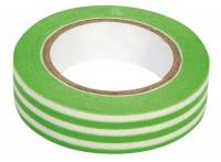 Rayher Washi Tape Streifen hellgrün