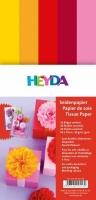 Seidenpapier für Paper Pompons Rot-Töne