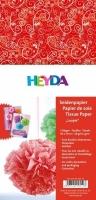 Seidenpapier für Paper Pompons Loopie rot