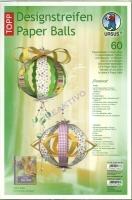 Designstreifen Paper Balls - Florence (Restbestand)