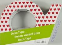Heyda Deko Tape rote Herzen