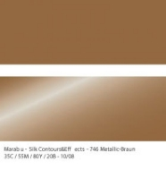Marabu Contours & Effects Liner 25ml metallic braun