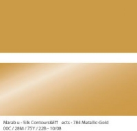 Marabu Contours & Effects Liner 25ml metallic gold