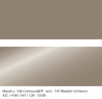Marabu Contours & Effects Liner 25ml metallic schlamm
