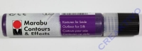 Marabu Contours & Effects Liner 25ml Glitter-Amethyst