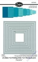 Rayher Sizzix Framelits Schablonenset Quadrate