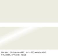 Marabu Contours & Effects Liner 25ml metallic weiß