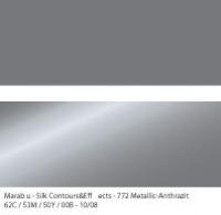Marabu Contours & Effects Liner 25ml metallic anthrazit
