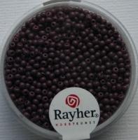 Rocailles 2 mm ø opak lila
