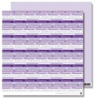 Rayher Scrapbooking Papier Kommunion lila