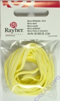 Micro-Wildleder 3mm gelb