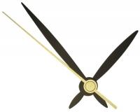 Rayher Satz Uhrzeiger 45/65mm schwarz