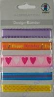 Design-Bänder Geburtstag