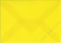 Transparenter Umschlag B6 sonnengelb