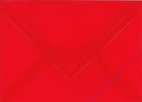 Transparenter Umschlag B6 rubinrot