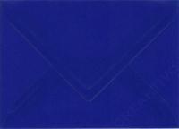 Transparenter Umschlag B6 dunkelblau