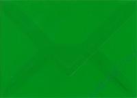 Transparenter Umschlag B6 grasgrün