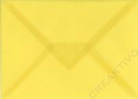 Transparenter Umschlag B6 hellgelb