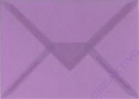 Transparenter Umschlag B6 lila