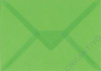 Transparenter Umschlag B6 hellgrün