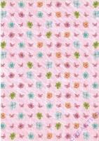 Transparentpapier Blütenzauber Motiv 01