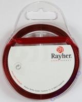 Rayher Satinband 7mm 10m weinrot
