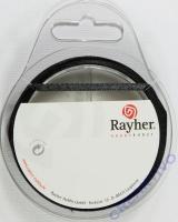 Rayher Satinband 3mm 10m schwarz